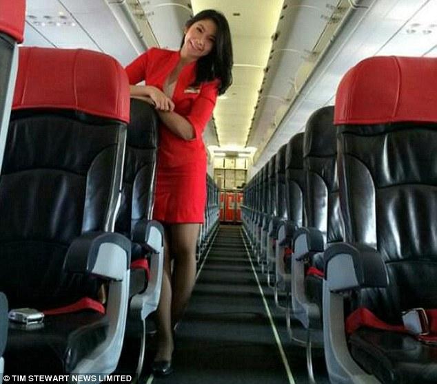 Indonesian AirAsia stewardess Khairunisa Haidar Fauzi-01