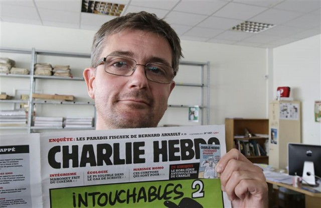 Charlie Hebdo- Publishing director Charb-120919