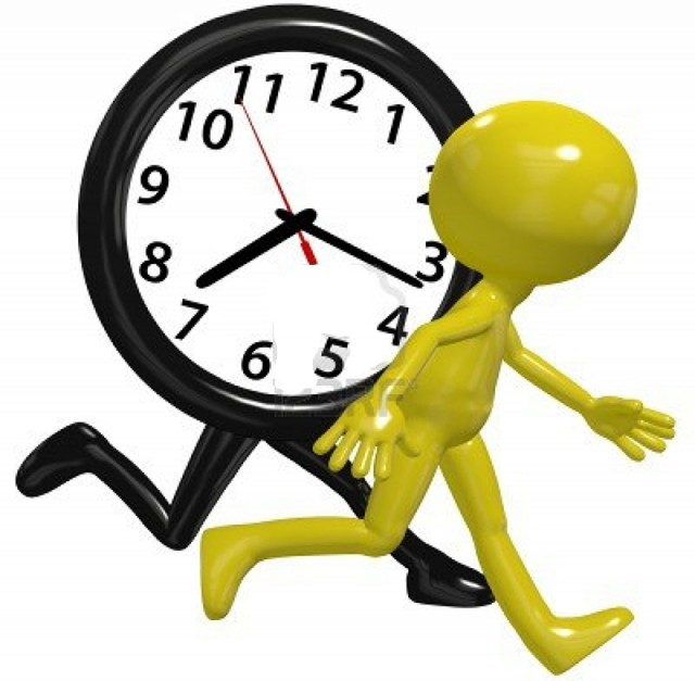 a-time-clock-on-a-busy-day